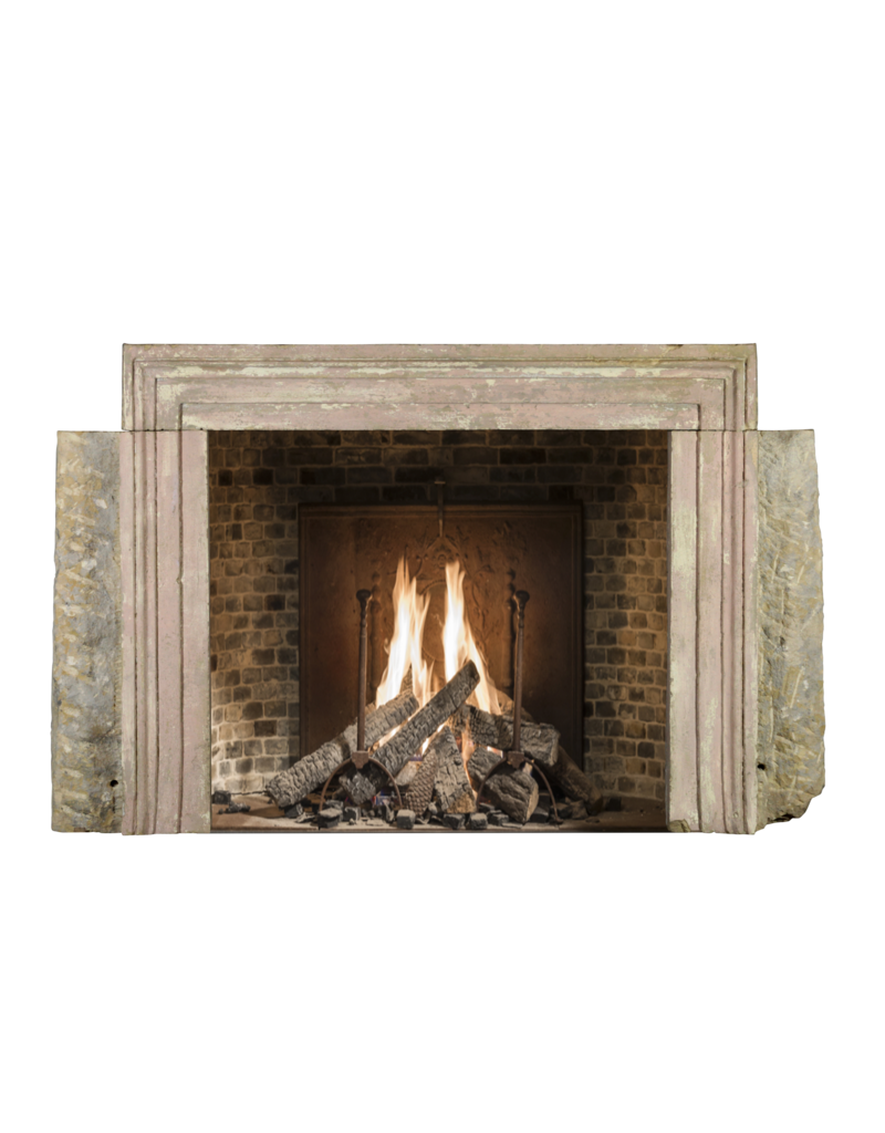 Bolection Rustic Fireplace Surround