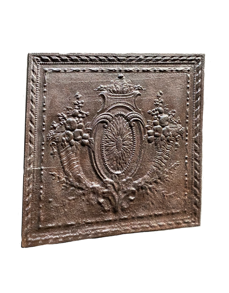 The Antique Fireplace Bank Fireback In Cast Iron