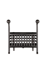 Coal And Wood Basket In Wrought Iron
