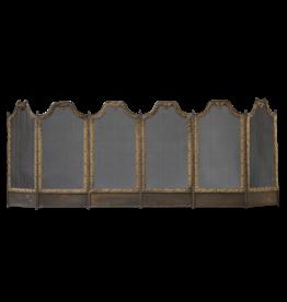 The Antique Fireplace Bank Luxus Lebensstil Louis XV Stil Kaminschirm