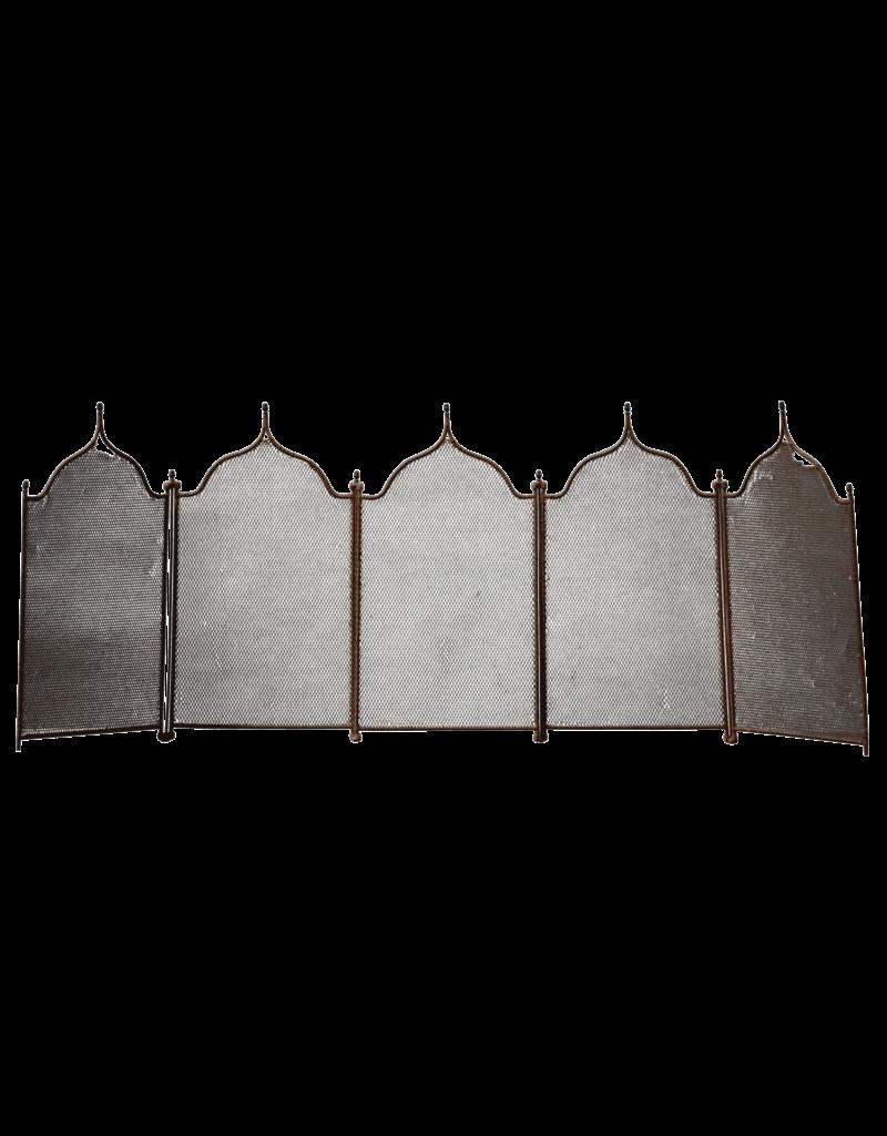 5 Pannel Rustic Fireplace Screen