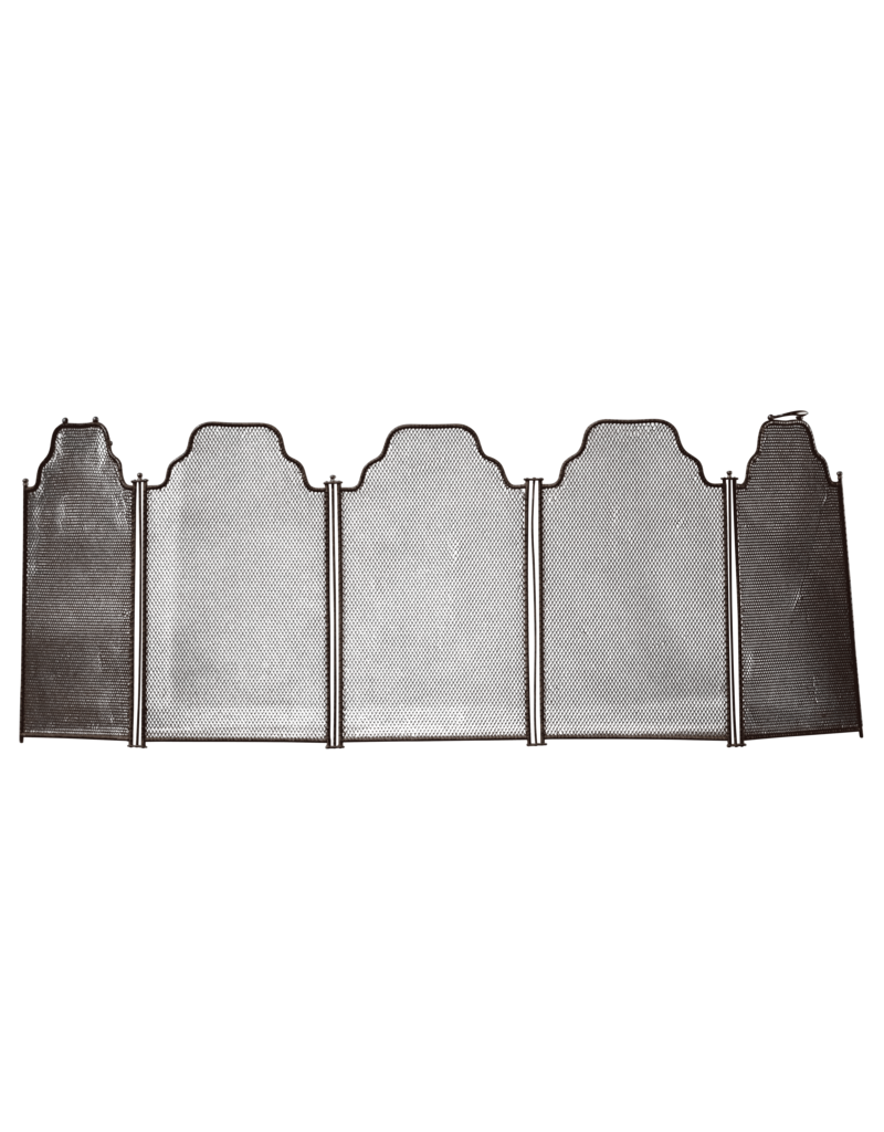 5 Pannel Rustikaler Kaminschirm