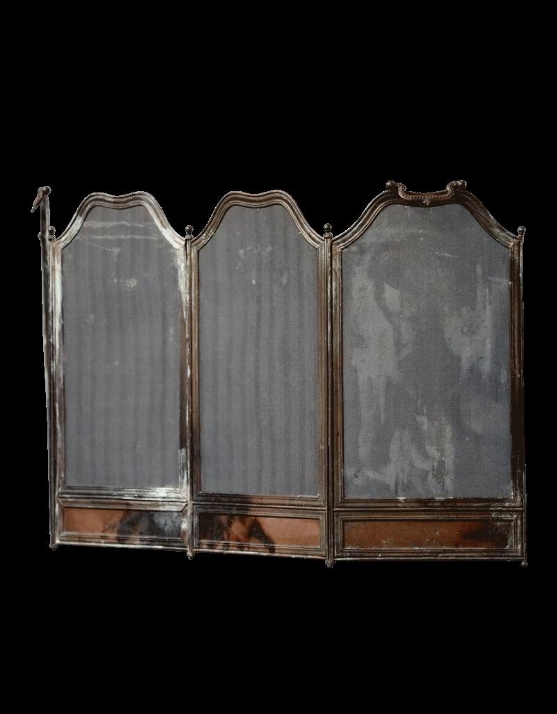 The Antique Fireplace Bank Rustikaler europäischer Kaminschirm