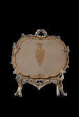The Antique Fireplace Bank Klassischer französischer Fender