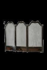 The Antique Fireplace Bank Gewebter Kaminschirm