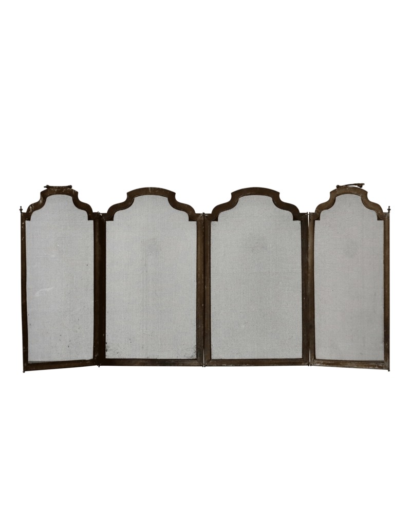 The Antique Fireplace Bank 4 Pannel Fireplace Screen