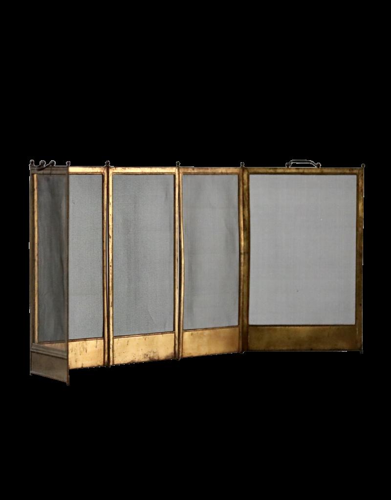 Fireplace Screen In Brass