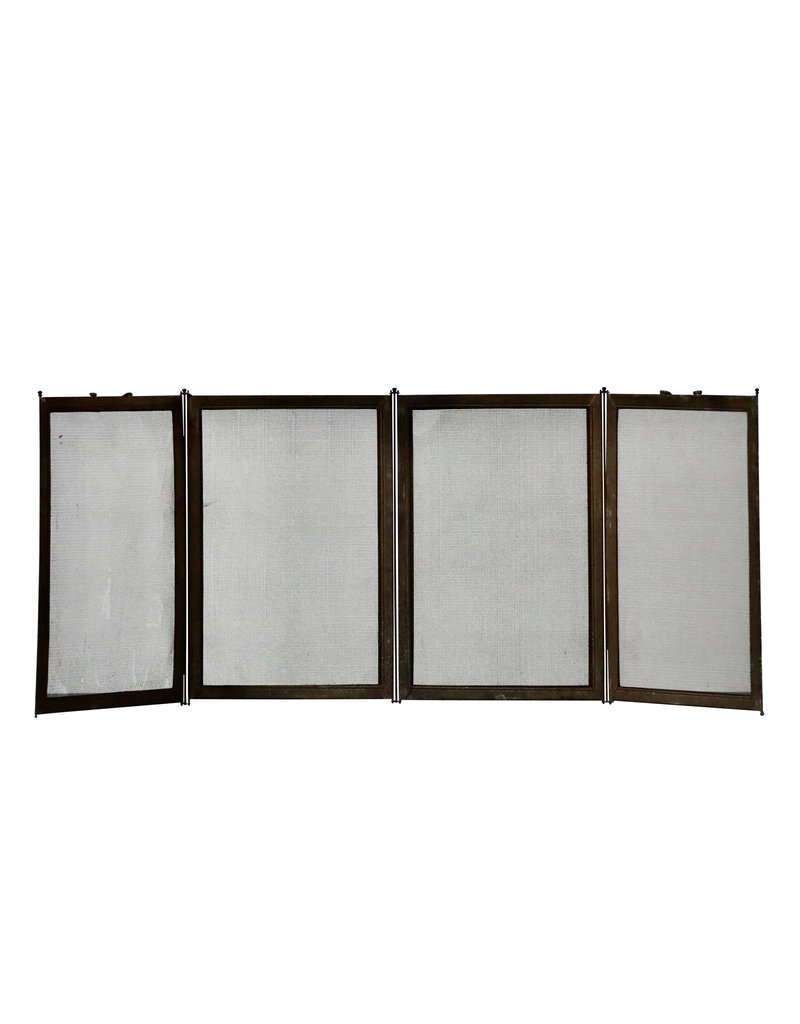 French Country Style Fireplace Screen