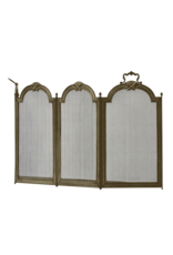 The Antique Fireplace Bank Directoire Style Fireplace Screen