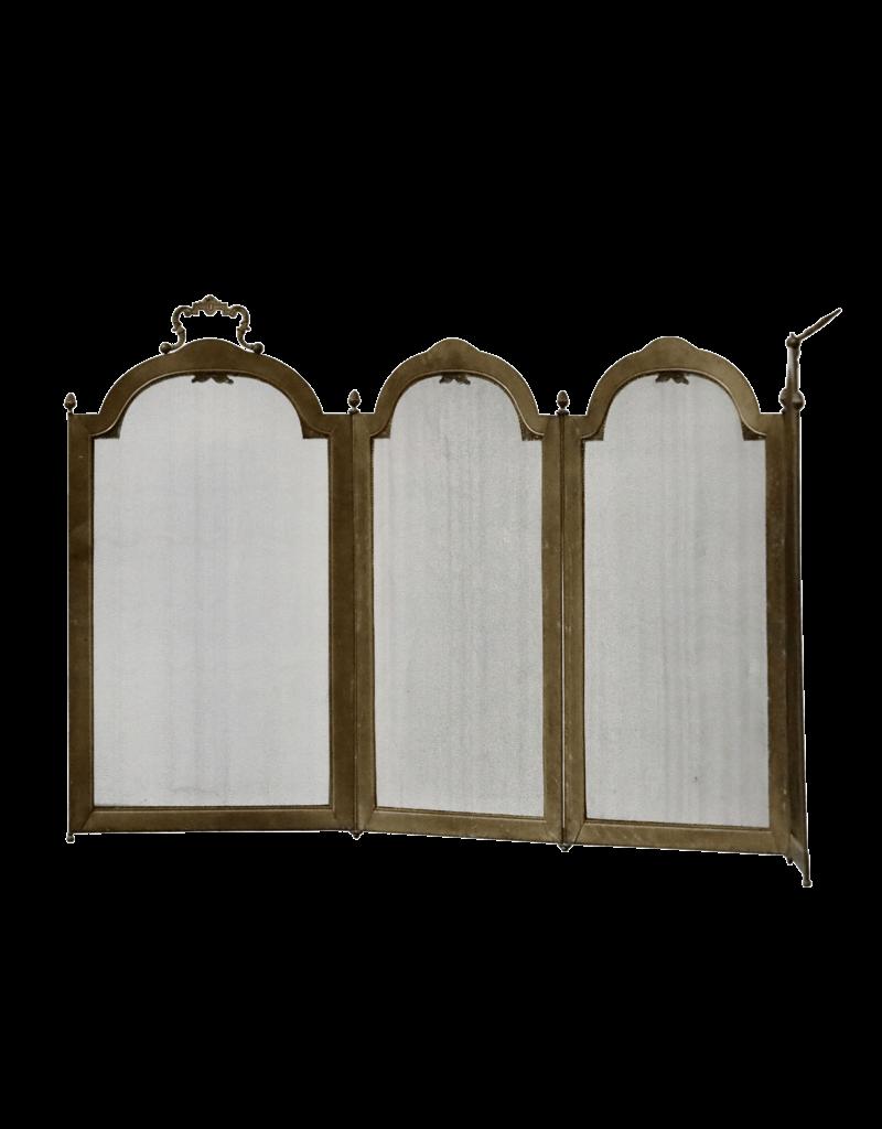 Kaminbildschirm im Directoire-Stil