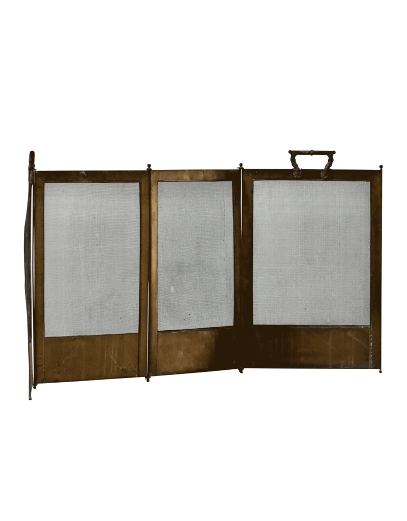 The Antique Fireplace Bank Fireplace Screen With Patina