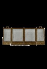 The Antique Fireplace Bank Kaminschirm aus Messing