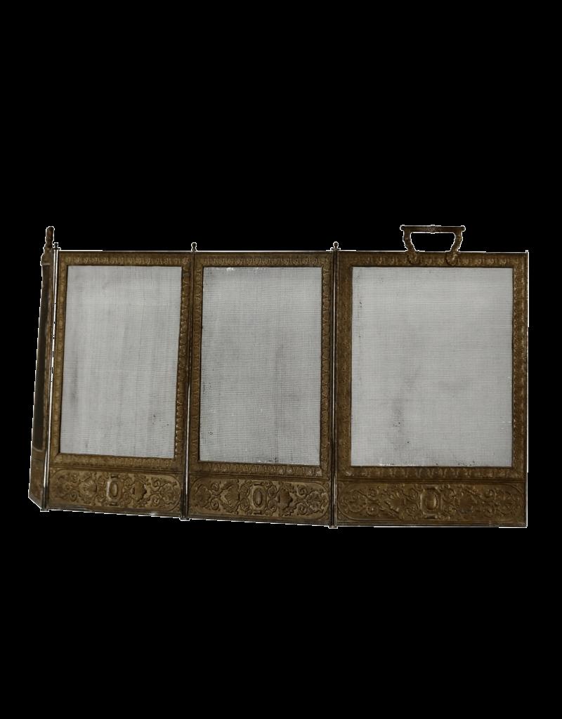 The Antique Fireplace Bank Brass Fireplace Screen