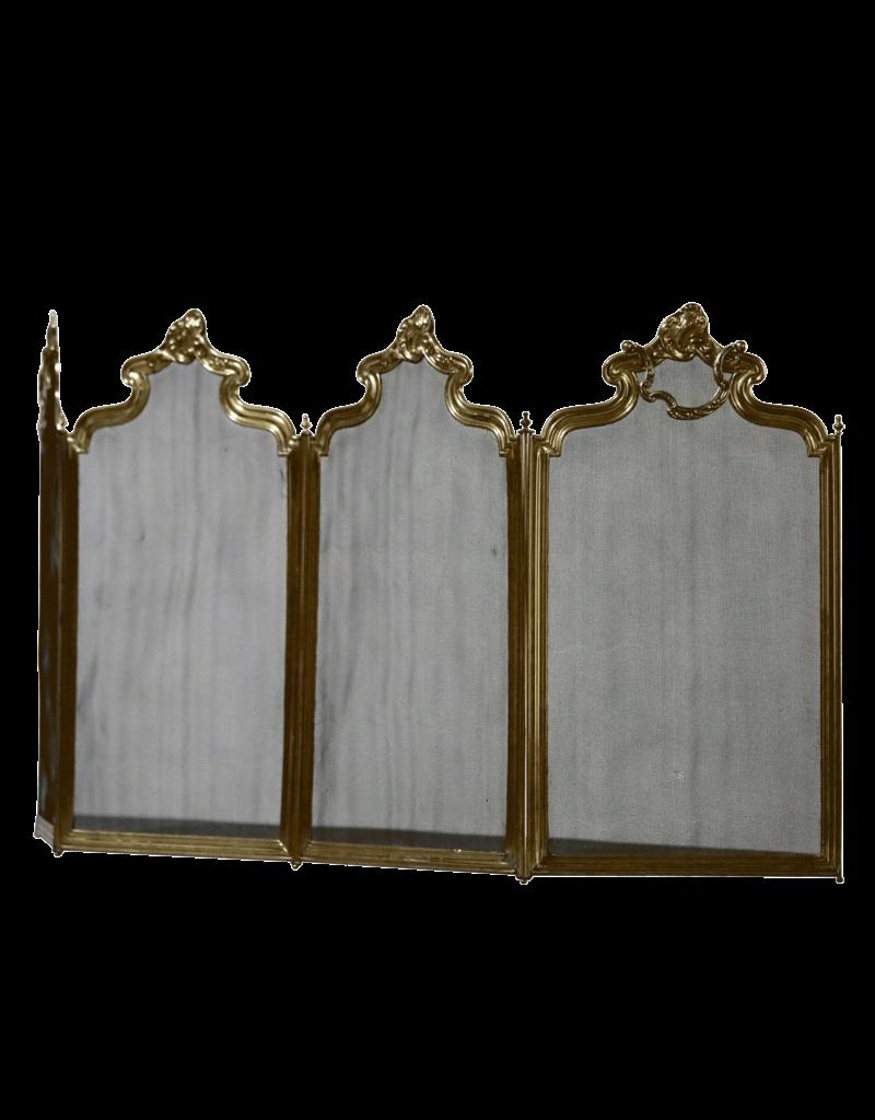 Französischer Kaminschirm im Regency-Stil