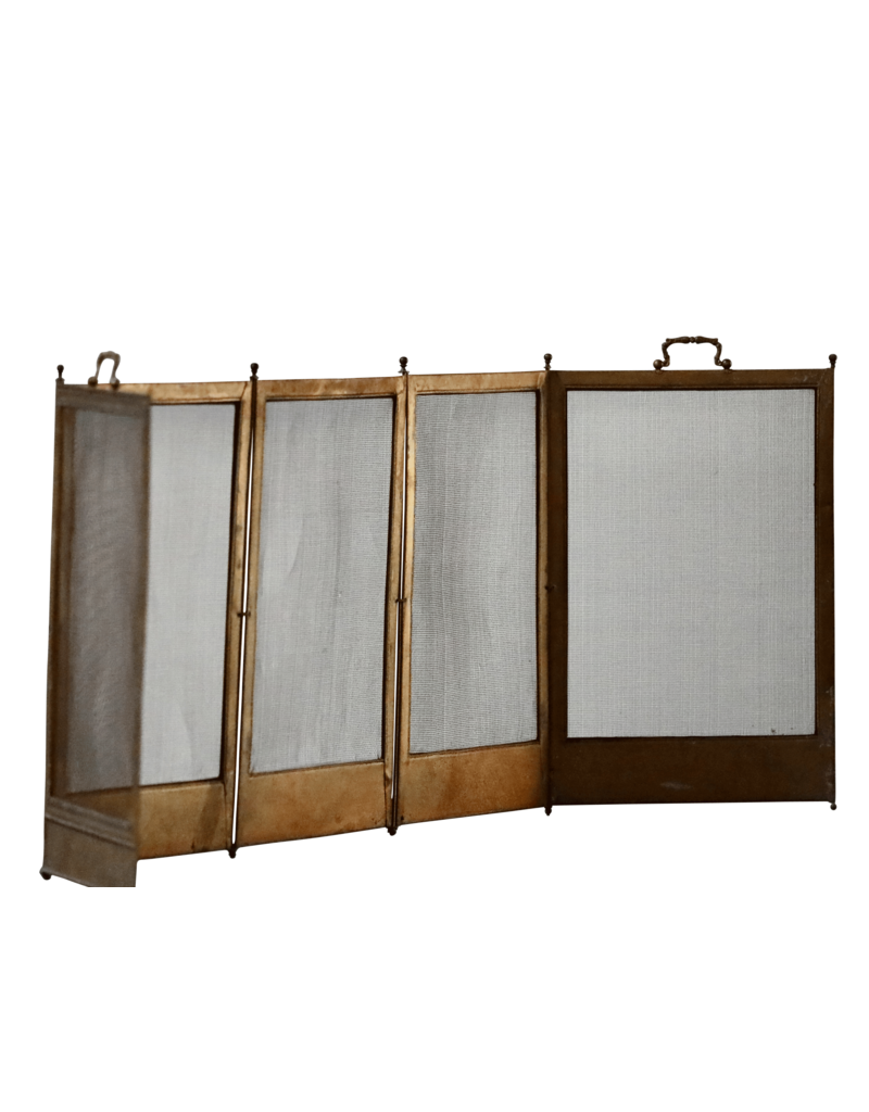 French Naif Country Style Fireplace Screen
