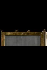 Klassischer französischer antiker Kaminschirm