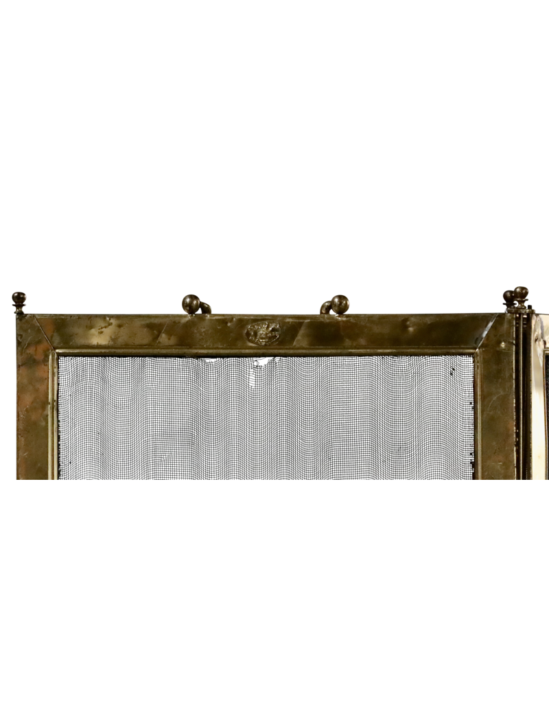 The Antique Fireplace Bank Klassischer französischer antiker Kaminschirm