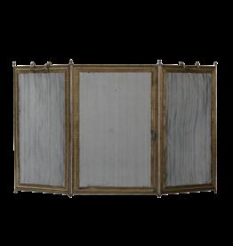 Pantalla De Chimenea Antigua Francesa Clásica