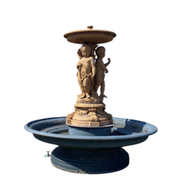 Zentralbrunnen aus Gusseisen