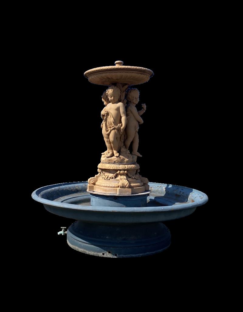 Monumental Cast Iron Fountain