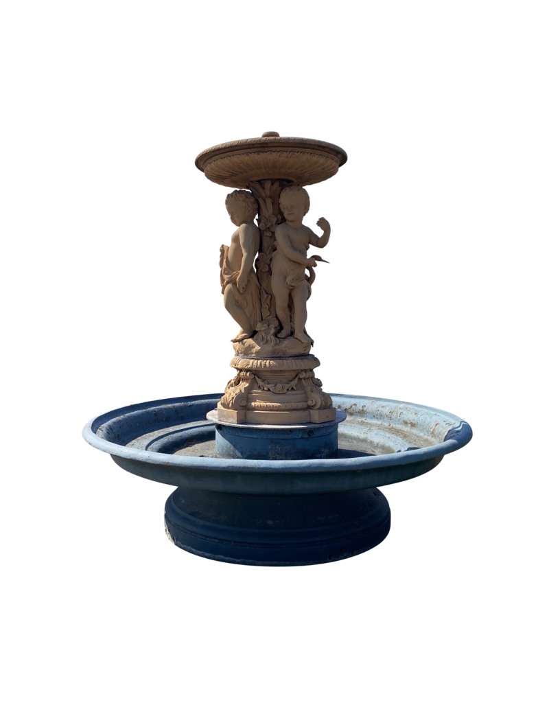The Antique Fireplace Bank Monumental Cast Iron Fountain