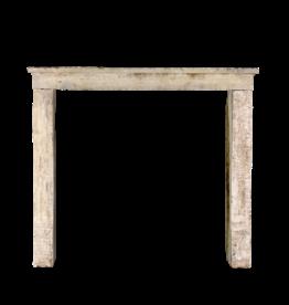 Wabi-Sabi rustikale Steinkamin-Einfassung