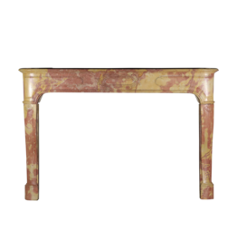 The Antique Fireplace Bank French Bicolor Hard Stone Antique Fireplace Surround