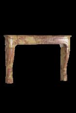 The Antique Fireplace Bank Louis XIV Französisch Bicolor Stone Kamin Verkleidung