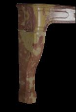 Louis XIV Französisch Bicolor Stone Kamin Verkleidung