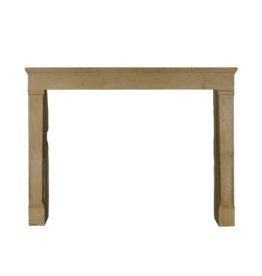 The Antique Fireplace Bank Honey Color French Hard Limestone Fireplace Surround