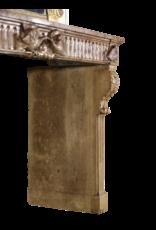 Sensacional Chimenea De Piedra Del Siglo XVIII