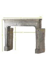 The Antique Fireplace Bank Französischer Rustikaler Kaminmaske mit Patina