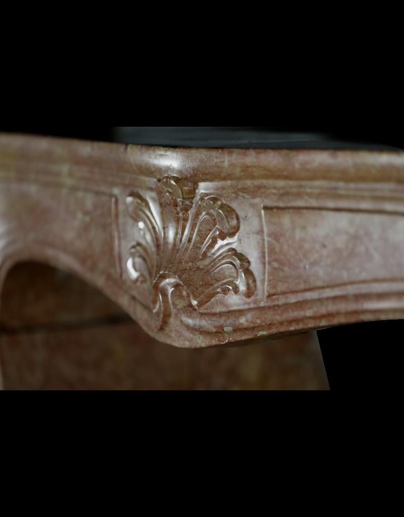 French Regency Stone Fireplace Mantle