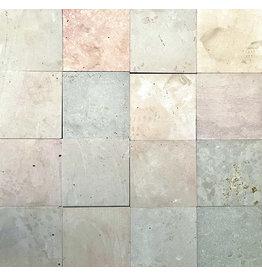 French Bicolor Hard Limestone Dalles