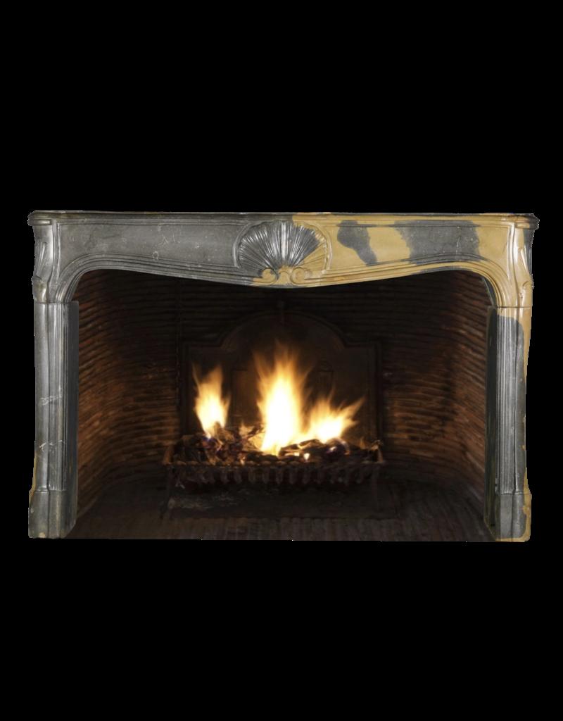 The Antique Fireplace Bank Große Zweifarbige Französische Kamin Maske Aus Dem 18. Jahrhundert