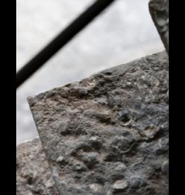 Dalles De Piedra Caliza Gris Antigua Recuperada