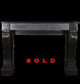 Maison Leon Van den Bogaert Antique Fireplaces & Vintage Architectural Elements Mármol Negro Belga Decorativo Chimenea