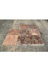 Original French Marquise Marble Dalles