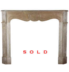 The Antique Fireplace Bank Pompadour Classic French Fireplace Surround