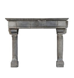 Strong Feudal Antique Fireplace Surround