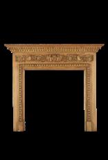 The Antique Fireplace Bank Georgianisch Kieferholz Kaminmaske