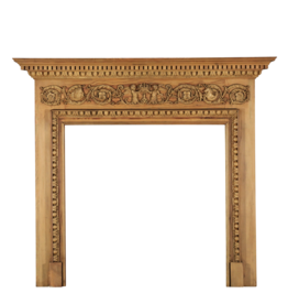 The Antique Fireplace Bank Georgian Style Pine Fireplace Surround