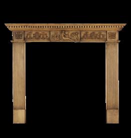 The Antique Fireplace Bank Pequeño Pino Surround Inglés