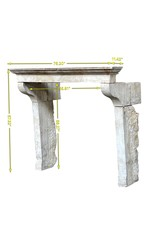 Maison Leon Van den Bogaert Antique Fireplaces & Vintage Architectural Elements Chimenea Francesa Antigua En Piedra Caliza