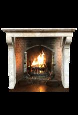 The Antique Fireplace Bank Antiker französischer Kamin im Kalkstein