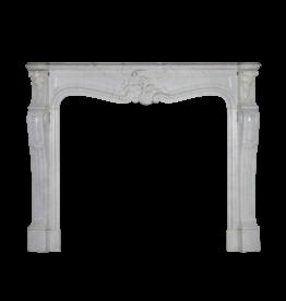 The Antique Fireplace Bank Chimenea Clásica De Mármol Blanco Estilo Regencia