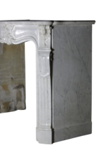 The Antique Fireplace Bank Classic Regency Style White Marble Fireplace