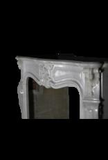 Maison Leon Van den Bogaert Antique Fireplaces & Vintage Architectural Elements Chimenea Clásica De Mármol Blanco Estilo Regencia