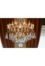 The Antique Fireplace Bank Großer zweifarbiger Kristallleuchter