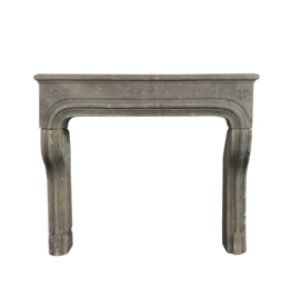 The Antique Fireplace Bank Rustic Grez-Limestone Fireplace Mantle